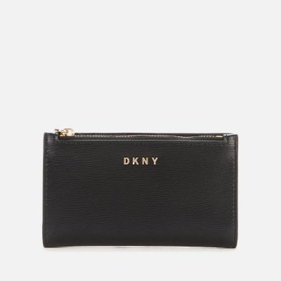 DKNY Women's Bryant Park Sutton Wallet – Black-Gold