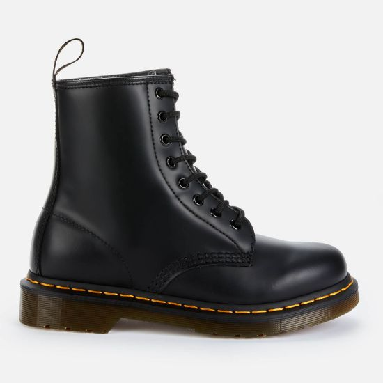 Dr. Martens 1460 Smooth Leather 8-Eye Boots - Black