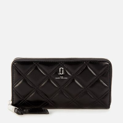 Marc Jacobs Women's Standard Continental Wallet - Black