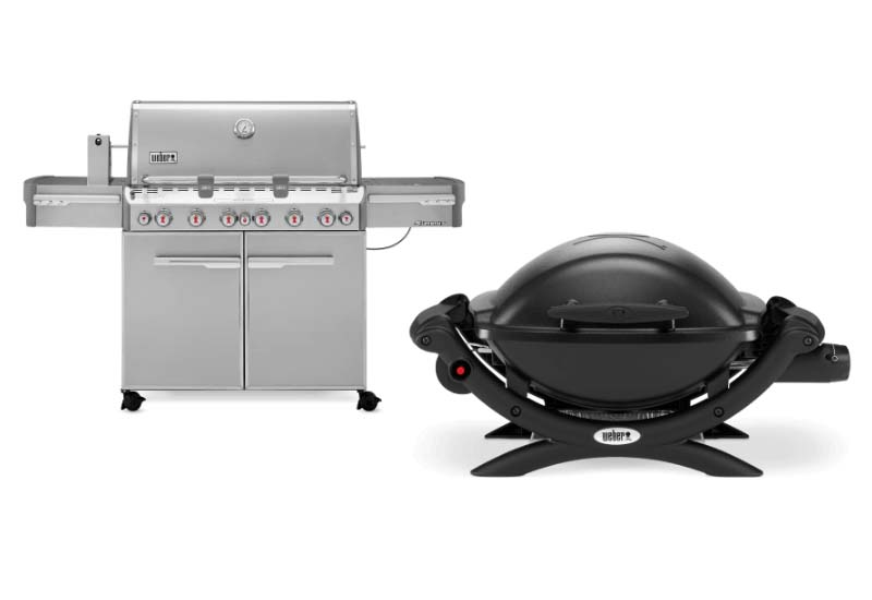 10 Lovely Gas Grills from Weber