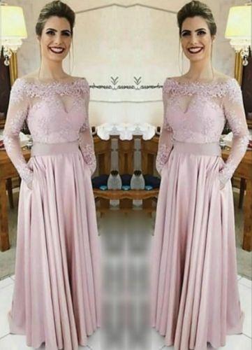 Arabic Black Long Sleeve Prom Evening Dresses 2020 Long Formal Dress Plus Size Vestidos De Fiesta De Noche Robe De Soiree
