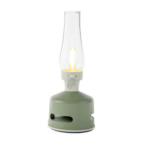 LED lantern speaker green