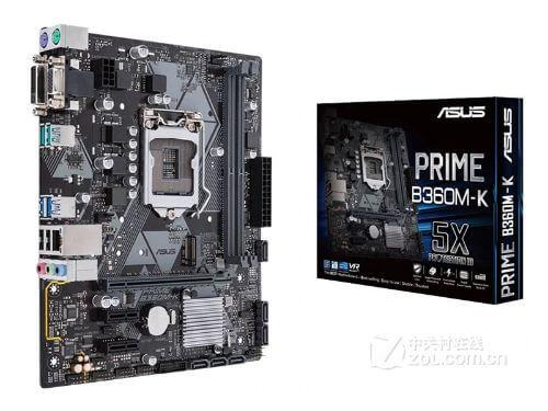 New ASUS PRIME B360M-K motherboard LGA 1151 DDR4 USB3.1 SATA3 DVI VGA 32GB B360 desktop motherboard Free shipping