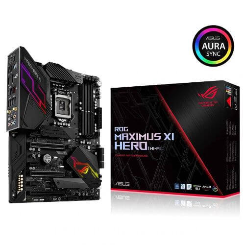 New ASUS ROG Maximus XI Hero M11H motherboard DDR4 LGA 1151 USB2.0 USB3.1 HDMI 64GB Desktop original motherboard